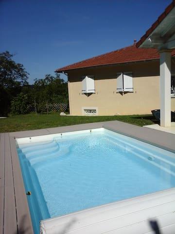 Maison dans le parc du vercors - Sainte-Eulalie-en-Royans - บ้าน