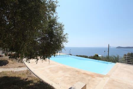3 Villas Complex | Private POOL, 50min to Athens - Dikastika - Kondominium