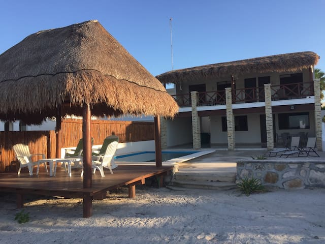 Luxury Villa in Front of the Ocean - Progreso