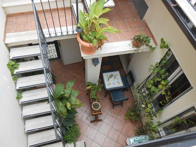 Appartamento Lascaris cortile - Lascari - Lägenhet