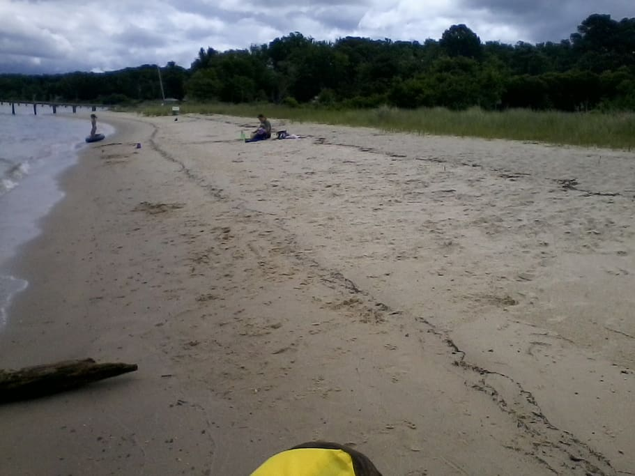 Beach - 6 miles