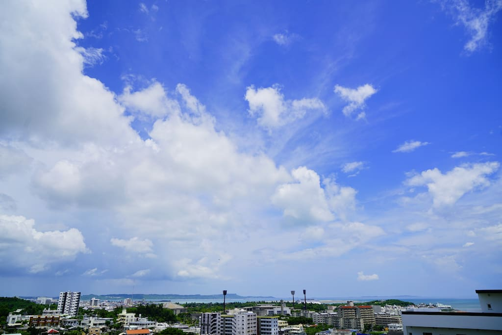It is the scenery〜from a house. 301リビングからみた風景