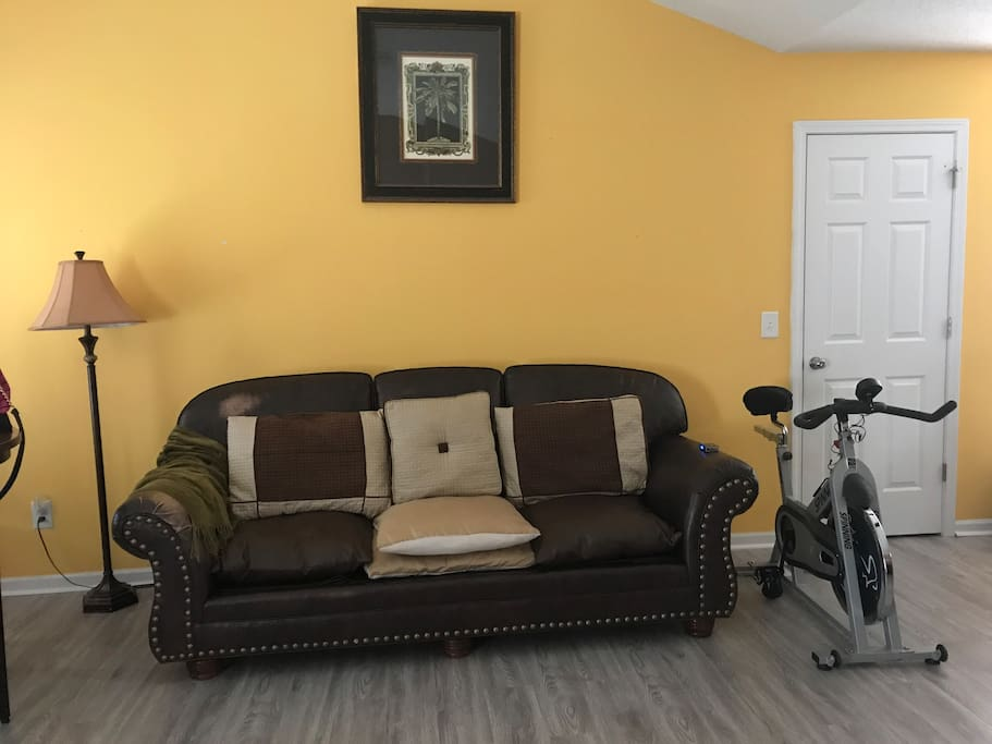 Master Bedroom Suite with Spin Bike