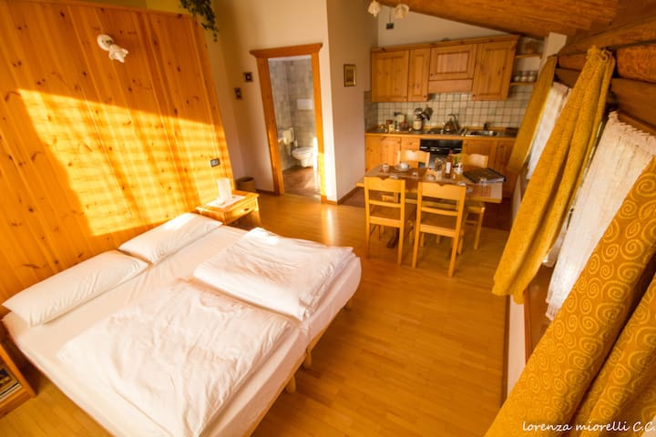 Biovacanza in Val di Gresta - Mori - Appartement
