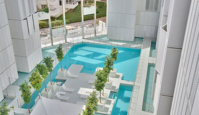 Modern 2 bedroom apt in Ibiza Marina - Ibiza - Apartment