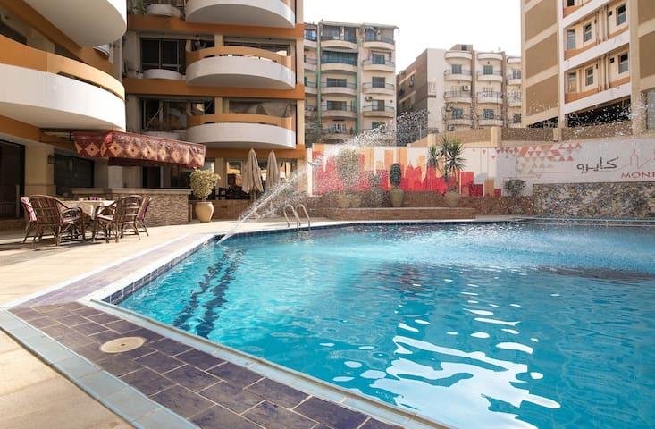 Duplex in Monte Cairo! (5persons)المقطم C005