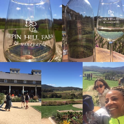 Quick drive to the new wine country in and around RVA