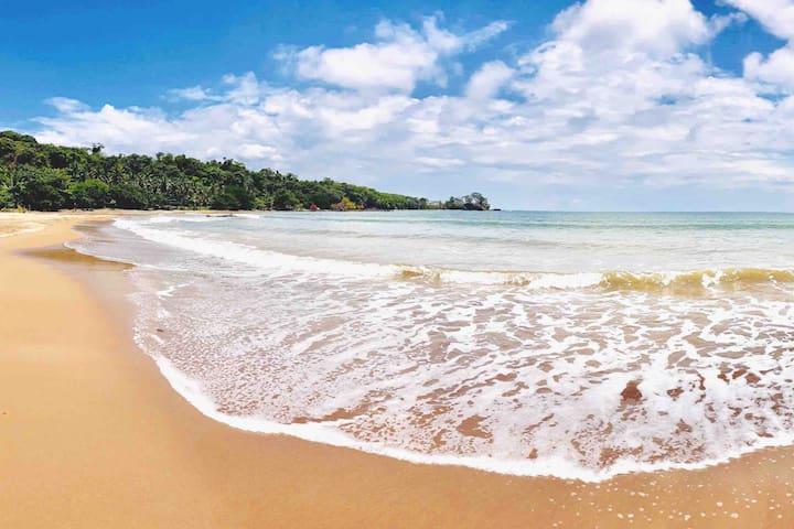 Private Beach - Peach Sand (Nipa Hut 3)