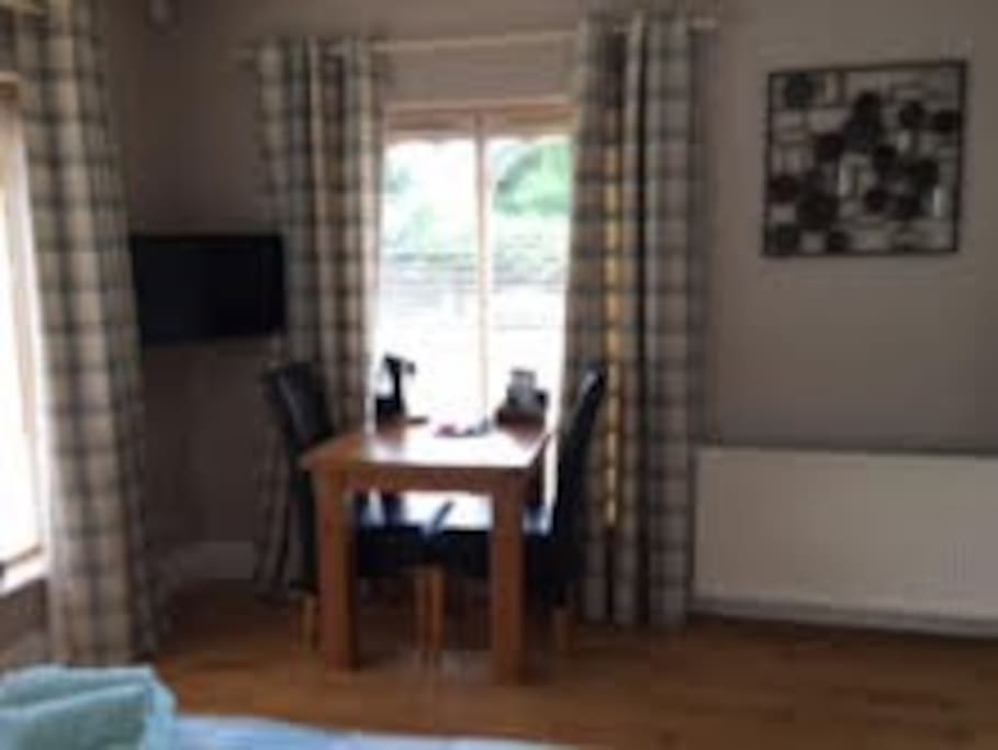 Television, DVD, Table and 2 Chairs