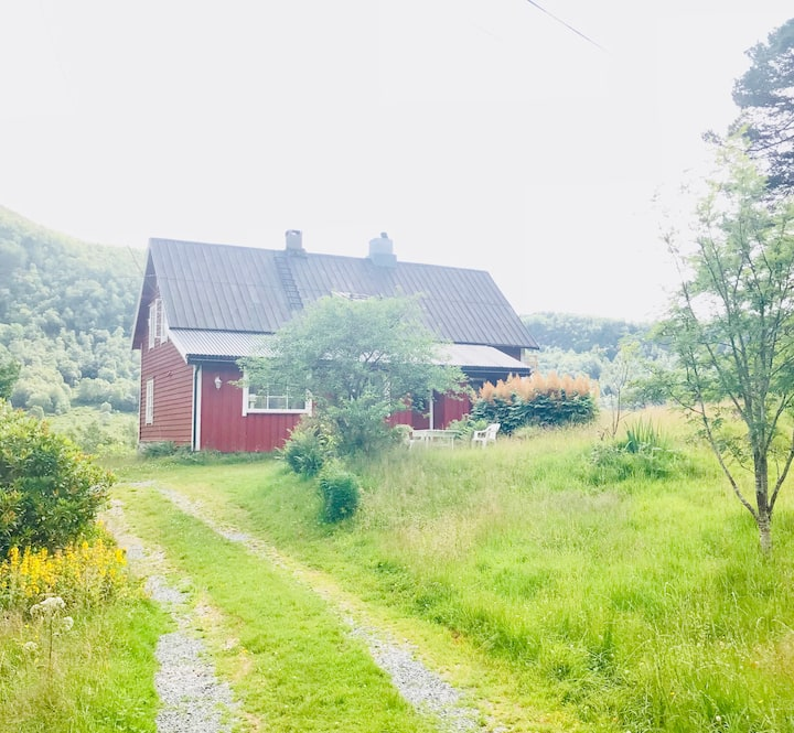 Peaceful farm house in nature - stunning walks