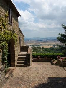 Panorama sulle colline toscane - Rivalto