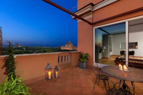 Top Floor Terrace Apartment