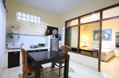 Sanur apartment studio 5min walk from the beach