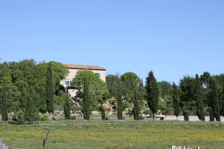 Traumlandhaus mit Pool (3.5 Hektar) - Brouzet-lès-Quissac - House