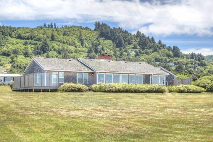 House Facing Ocean