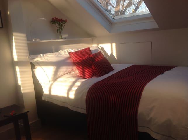 Light contemporary double bedroom in Brentford