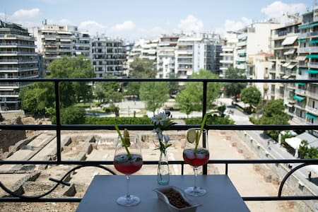 Amazing view,downtown luxurious 2bd - Thessaloniki