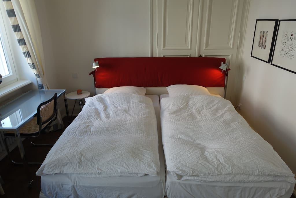 Swedish king-sized bed, 2 meter by 2 meter
