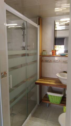 Salle d'eau privée douche