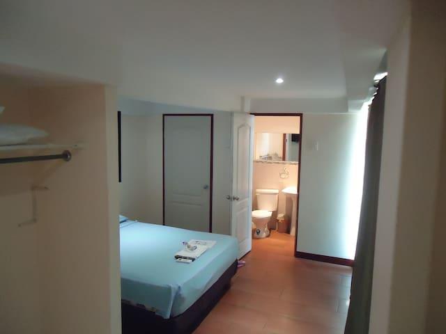 Habitación minimalista 3