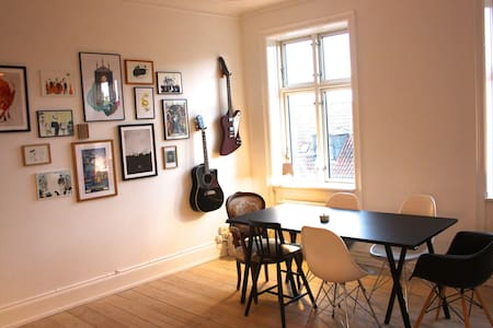 Beautiful apartment in vibrant area - København - Apartment