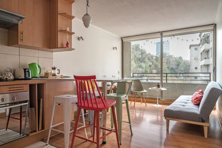 Cozy and stylish space on the best of Lastarria!