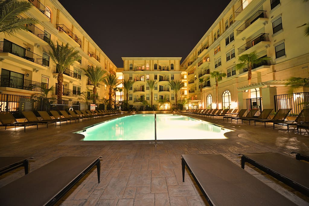 Resort style swing pool (1 of 3)