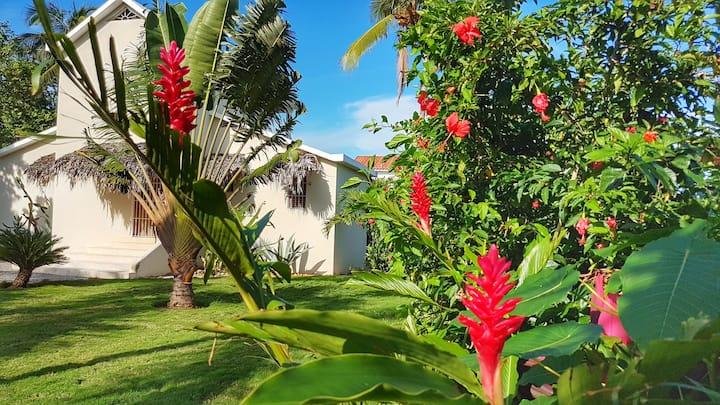 Casa Cayena, caribbean home for 6 close to beaches