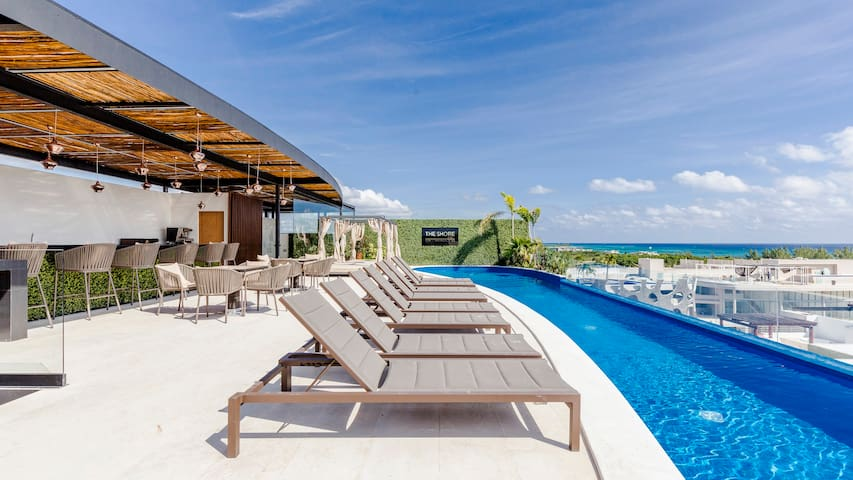 Loft beach nearby infinity pool by OctopusTravel
