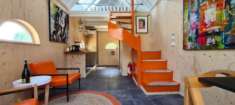 NEW! Tiny House for peace & culture