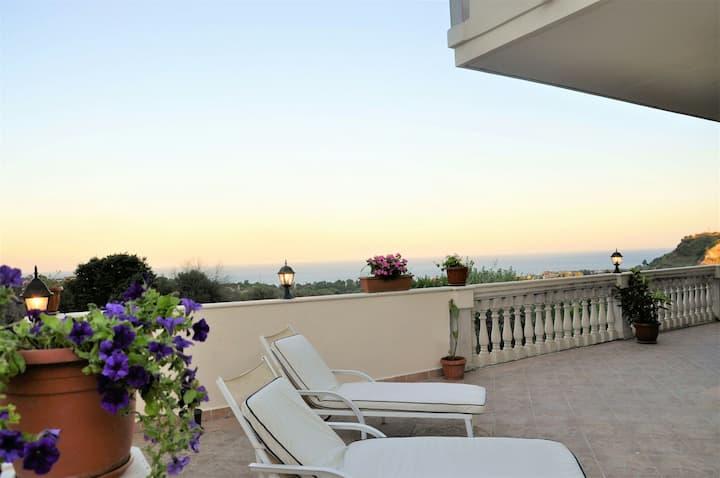Villa il belvedere a Savoca vicino Taormina × 6