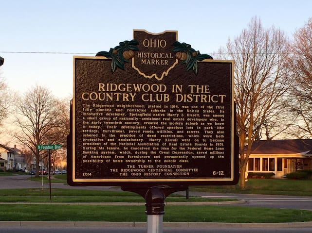 A bit of our neighborhood's history.