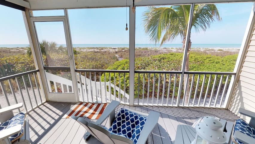 Right on the sandy shores of Boca Grande!