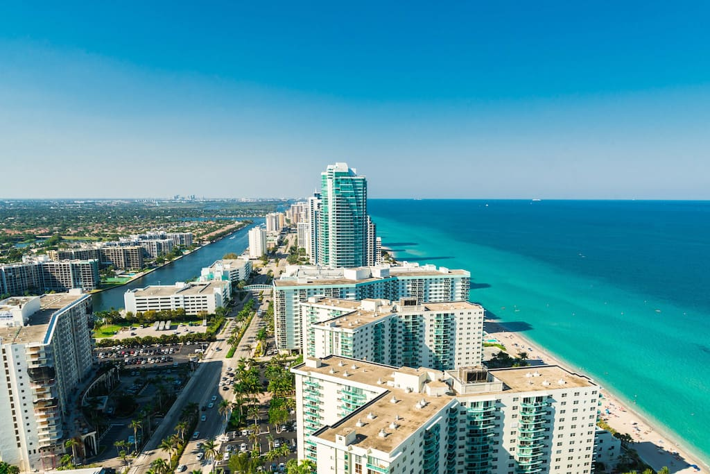 Hyde Resort Residences 2 Bedroom Oceanfront Apt Condominiums For Rent In Hollywood Florida