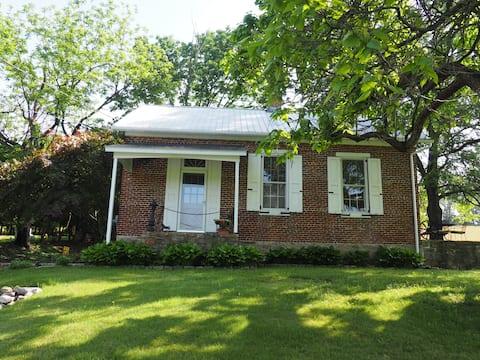 Historic Kinder Hawk Schoolhouse rural Kempton PA
