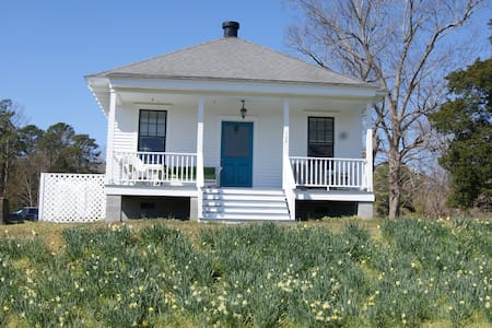 Waterfront Cottage at the Old Fish Hatchery - Edenton - Pension