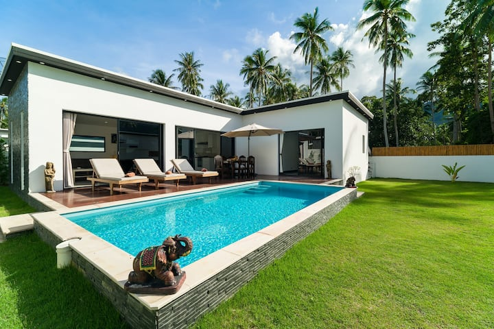 "Villa Mona ""3BR & private pool"" Lamai"