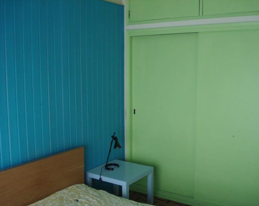 Bedroom A with double bed