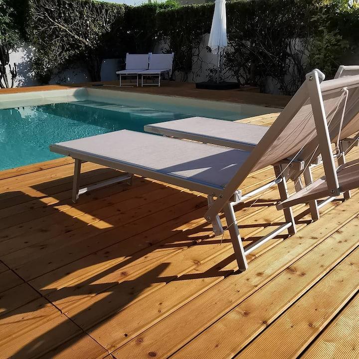 Bilocale con piscina a Nardò