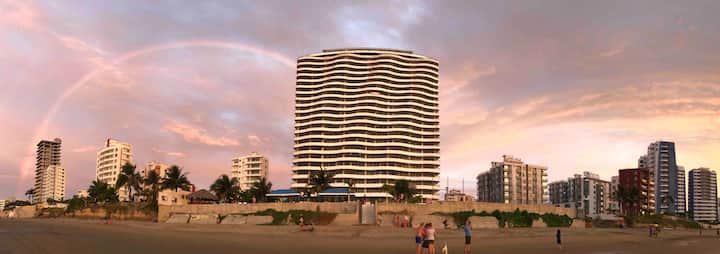 Tonsupa! Departamento frente al mar FountaineBleau