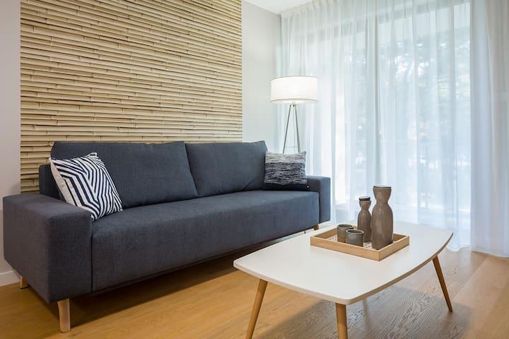 Wczasowa 2c Apartament 40 A Deluxe dla 4 osób
