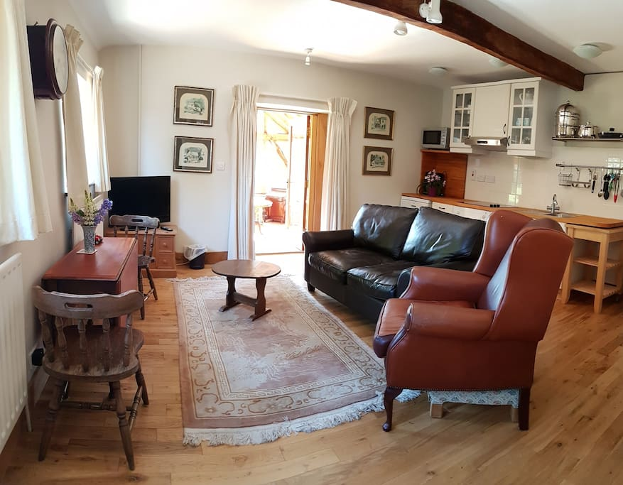Comfortable lounge with  Central Heating throughout