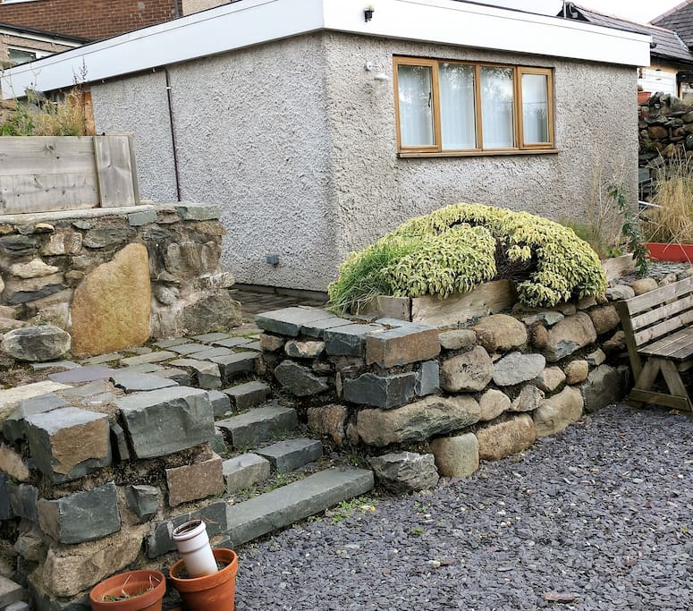 Our garden bungalow