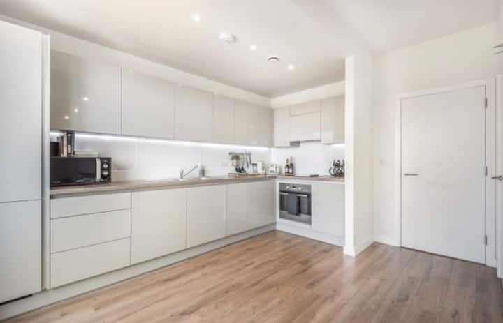 Modern apartment - 15 mins from centre of London