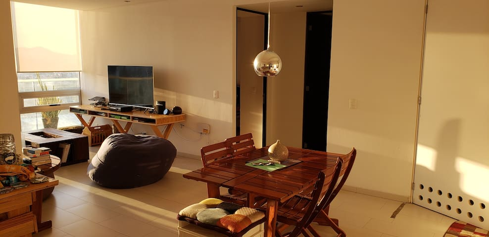 Room in cool appartment Polanco, Mexico City