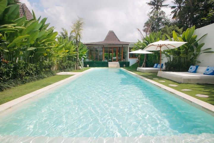 A  Luxury Villa Joglo #1  (Spacious private pool)
