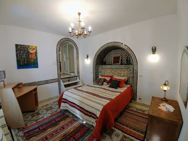 Beylical Bedroom  in the Old City of Sidi Bou Said
