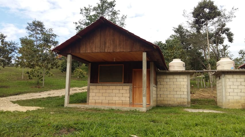 Cabaña 1  Loma Bonita cercano a las Nubes Chiapas - Las Margaritas - Natur-Lodge