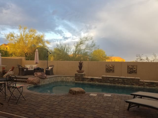 Backyard Oasis 1 - Goodyear - House