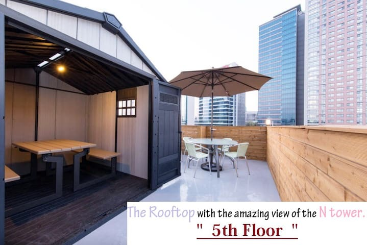 MAJUNG HAUS Seoul Station(double g) - Yongsan-gu - Bed & Breakfast